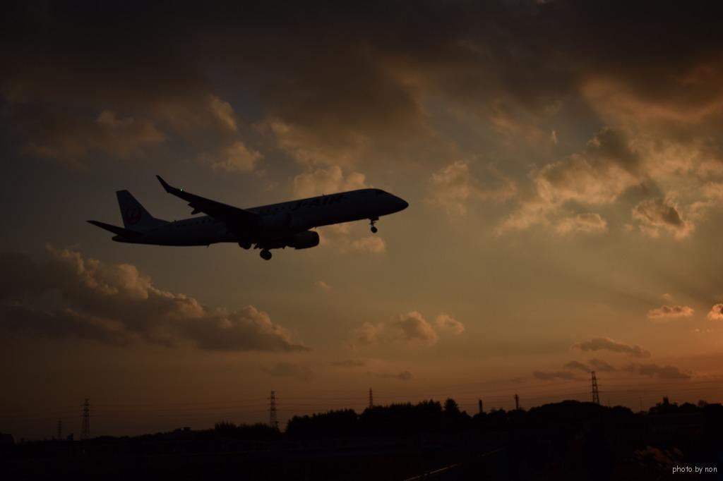 飛行機初め
